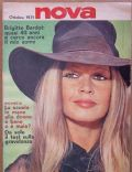 Brigitte Bardot on the cover of Nova (Italy) - October 1971