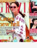 Katie Holmes on the cover of Grazia (United Kingdom) - July 2012