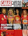 Gerard Butler, Madonna, Nicole Scherzinger, Paris Hilton on the cover of Caras (Brazil) - February 2010