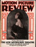Pola Negri on the cover of Motion Picture Review (United States) - May 1924