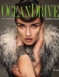 Paz Vega on the cover of Ocean Drive (Puerto Rico) - August 2009