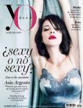Asia Argento on the cover of Yo Dona (Spain) - September 2013
