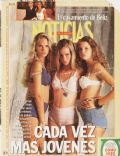 Carola Del Bianco, Nicole Neumann on the cover of Noticias Magazine (Argentina) - January 1993