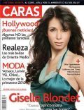 Giselle Blondet on the cover of Caras (Puerto Rico) - February 2010