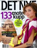 Miranda Kerr on the cover of Det Nye (Norway) - October 2009