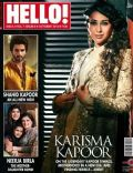 Karisma Kapoor on the cover of Hello (India) - October 2013