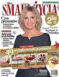 Agnieszka Popielewicz on the cover of Smak Ycia (Poland) - December 2013