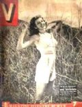 Rita Hayworth on the cover of V (France) - April 1945