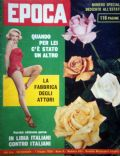 Marilyn Monroe on the cover of Epoca (Italy) - June 1959