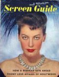 Ava Gardner on the cover of Screen Guide (United States) - September 1948