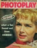 Debbie Reynolds on the cover of Photoplay (United States) - April 1959