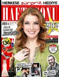 Cem Yilmaz, Özge Özberk on the cover of Haftasonu (Turkey) - January 2012