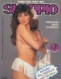 Serena Grandi on the cover of Skorpio (Italy) - April 1985