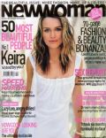 Keira Knightley on the cover of New Woman (United Kingdom) - September 2004