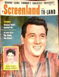 Rock Hudson on the cover of Screenland (United States) - July 1958
