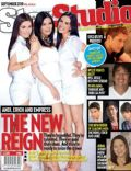 Andi Eigenmann, Empress Schuck, Erich Gonzales on the cover of Star Studio (Philippines) - September 2010