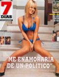 Jessica Cirio on the cover of 7 Dias (Argentina) - April 2008