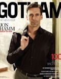 Jon Hamm on the cover of Gotham (United States) - October 2010