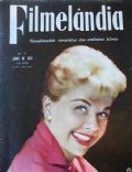 Doris Day on the cover of Filmelandia (Brazil) - April 1958