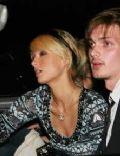 James Neate and Paris Hilton
