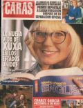 Charly García, Sarah Ferguson, Xuxa Meneghel on the cover of Caras (Argentina) - April 1993