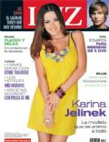 Karina Jelinek on the cover of Luz (Argentina) - December 2008