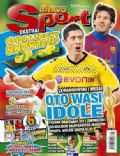 Lionel Messi, Robert Lewandowski on the cover of Bravo Sport (Poland) - February 2012