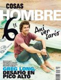 Greg Long on the cover of Cosas Hombre (Peru) - July 2014