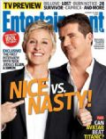 on the cover of Entertainment Weekly (United States) - January 2010