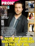 Gastón Pauls on the cover of Pronto (Argentina) - September 2012