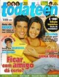Bruno Gagliasso on the cover of Toda Teen (Brazil) - March 2004