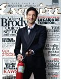 Adrien Brody on the cover of Esquire (Mexico) - July 2010