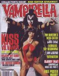 Gene Simmons on the cover of Vampirella (United Kingdom) - February 2003