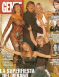 Felipe Colombo, Ingrid Grudke, Luisana Lopilato on the cover of Gente (Argentina) - February 2003
