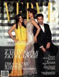 Ekta Kapoor, Karan Johar, Priyanka Chopra on the cover of Verve (India) - December 2013