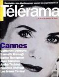 Catherine Deneuve on the cover of Telerama (France) - May 1993