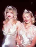 Amanda De Cadenet and Courtney Love