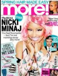 Nicki Minaj on the cover of More (United Kingdom) - January 2013