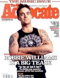 Robbie Williams on the cover of The Advocate (United States) - May 2003