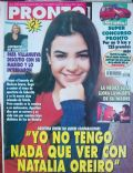 Agustina Cherri on the cover of Pronto (Argentina) - May 2000