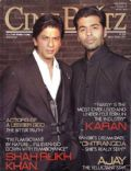 Karan Johar, Shah Rukh Khan on the cover of Cineblitz (India) - February 2010