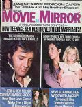 Elvis Presley on the cover of Movie Mirror (United States) - September 1975