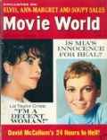 Elizabeth Taylor on the cover of Movie World (United States) - July 1966
