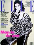 Isabella Rossellini on the cover of Elle (Netherlands) - November 1992