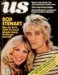 Alana Stewart, Rod Stewart on the cover of Us Magazine (United States) - May 1979