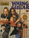Alexi Laiho, Gus G on the cover of Young Guitar (Japan) - February 2004