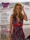 Becki Newton on the cover of Page Six (United States) - April 2008