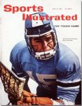 Jerry Schmidt on the cover of Sports Illustrated (United States) - April 1962