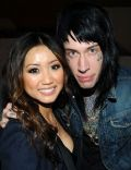 Brenda Song and Trace Cyrus