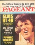 Elvis Presley on the cover of Pageant (United States) - October 1974